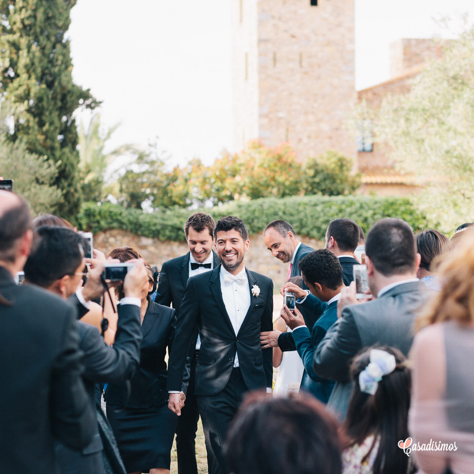 na boda entre olivos - Castell d'Empordà - Girona