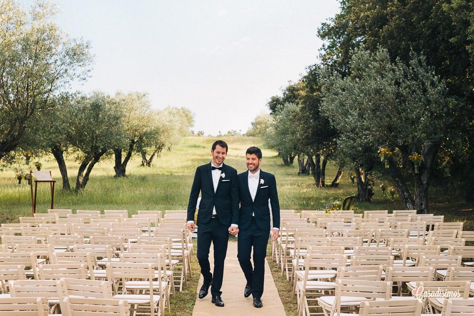 Una boda gay entre los olivos del Castell d'Empordà - Girona